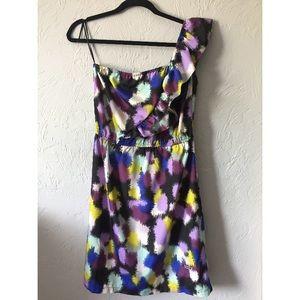 Colorful Asymmetrical Dress- Roxy